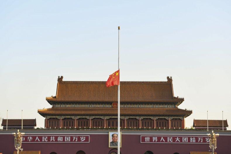 Tiananmen Square during coronavirus
