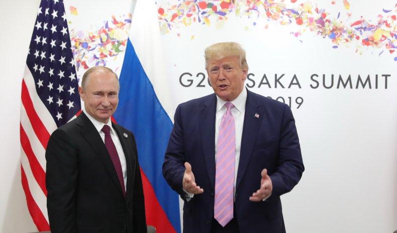 Trump and Putin at G20 Summit