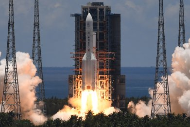 China Tianwen-1 Mars mission