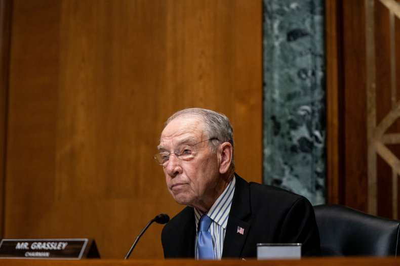 Senate Finance Committee Chairman Chuck Grassley