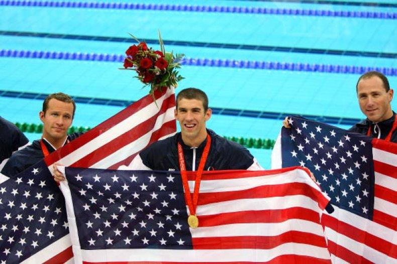 Michael Phelps 2008 Beijing Olympics