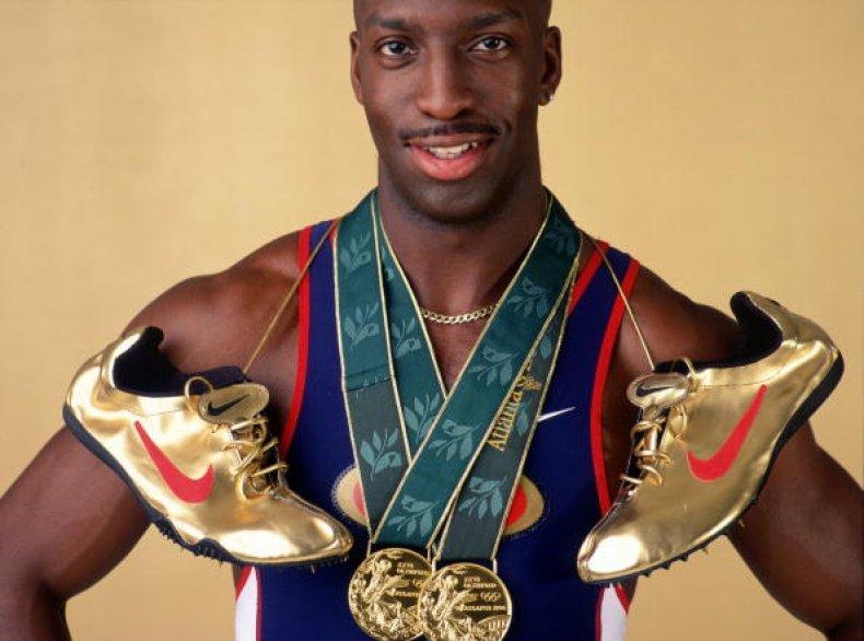 Michael Johnson 1996 Olympics