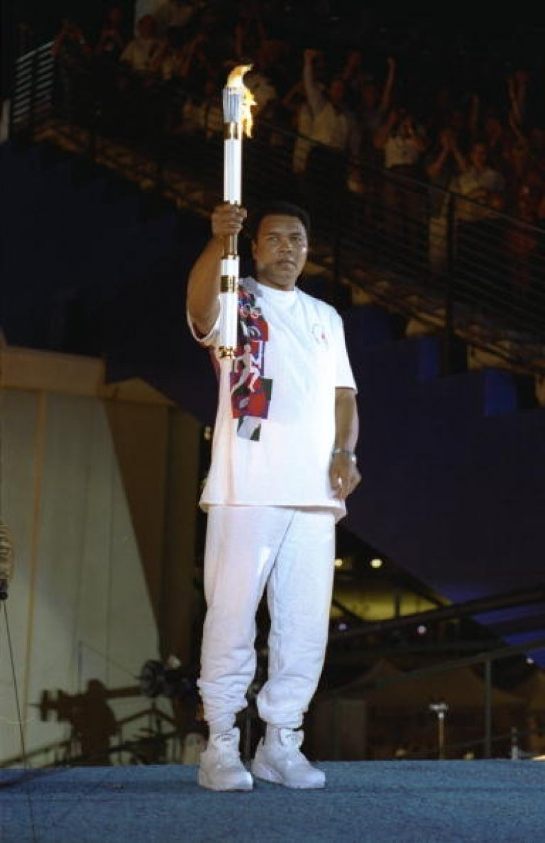 Muhammad Ali 1996 Atlanta Olympics