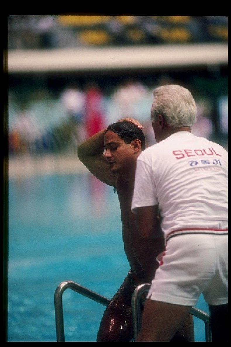 Greg Louganis 1988 Seoul Olympics