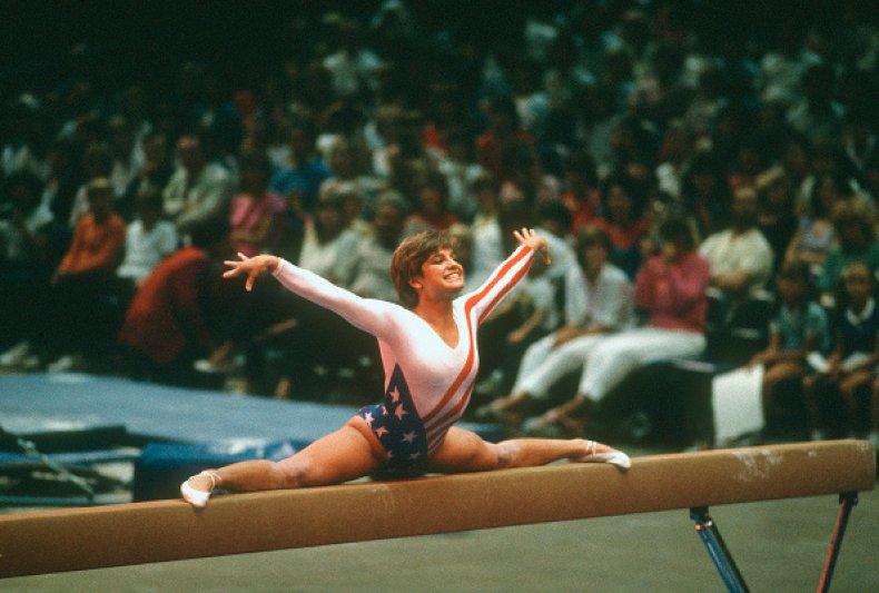 Mary Lou Retton 1984 Olympics