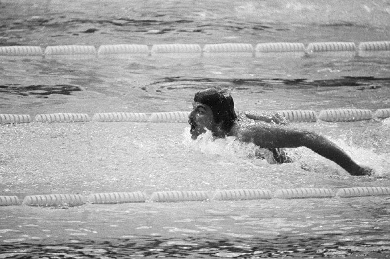 Mark Spitz 1972 Munich Olympics