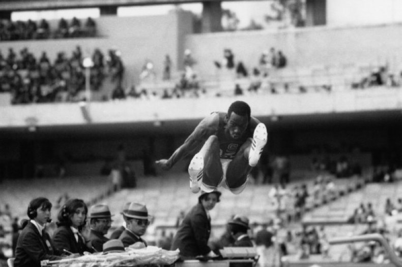 Bob Beamon 1968 Olympics