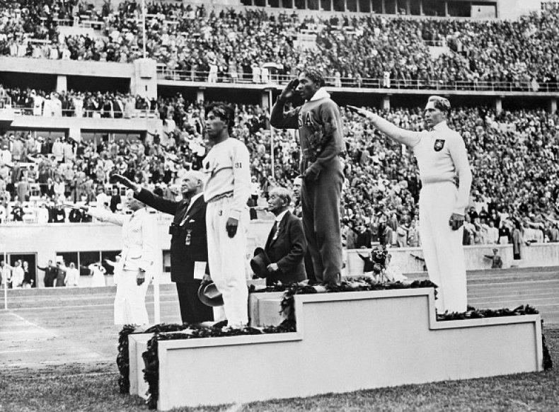 Jesse Owens 1936 Berlin Olympics