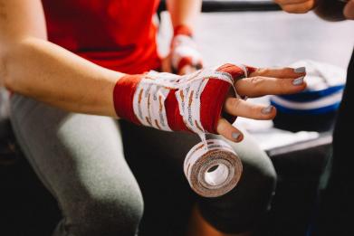 Newsweek AMPLIFY - MMA training gear beginners