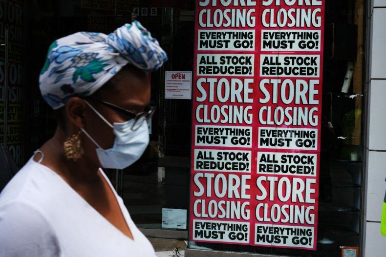 Store Advertises Closing Sale in New York