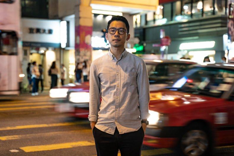 Nathan Law, Hong Kong, China, UK, West