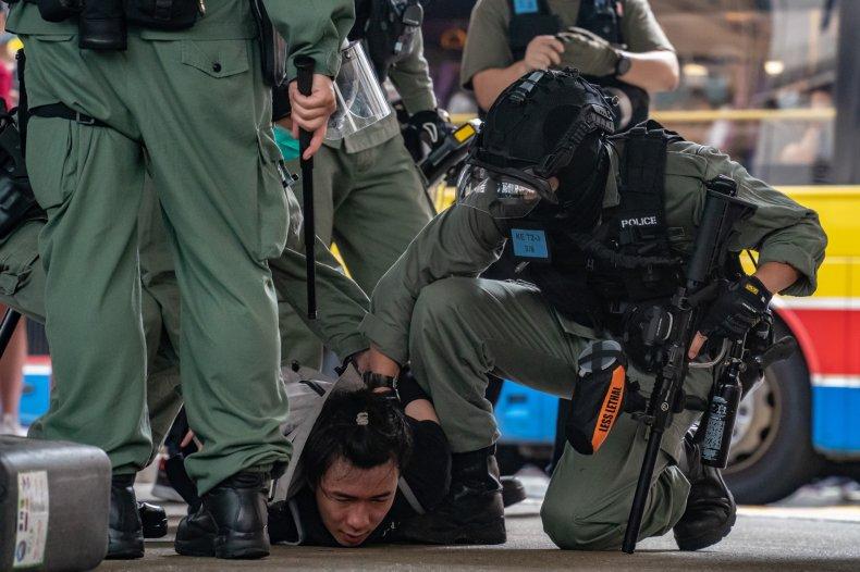China, Hong Kong, protests, national security law