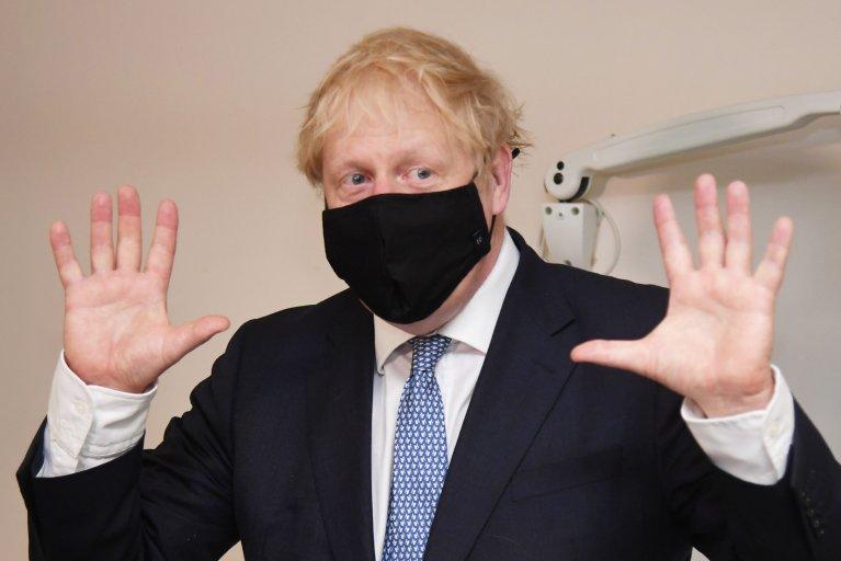 Boris Johnson on Anti-Vaxxers