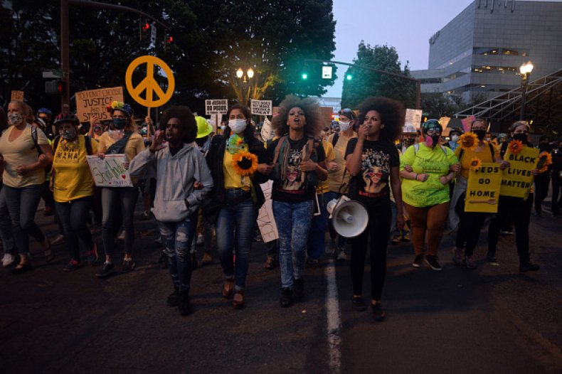 protest Portland