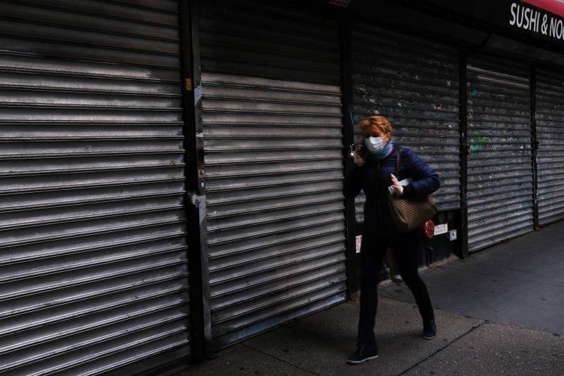 shut store