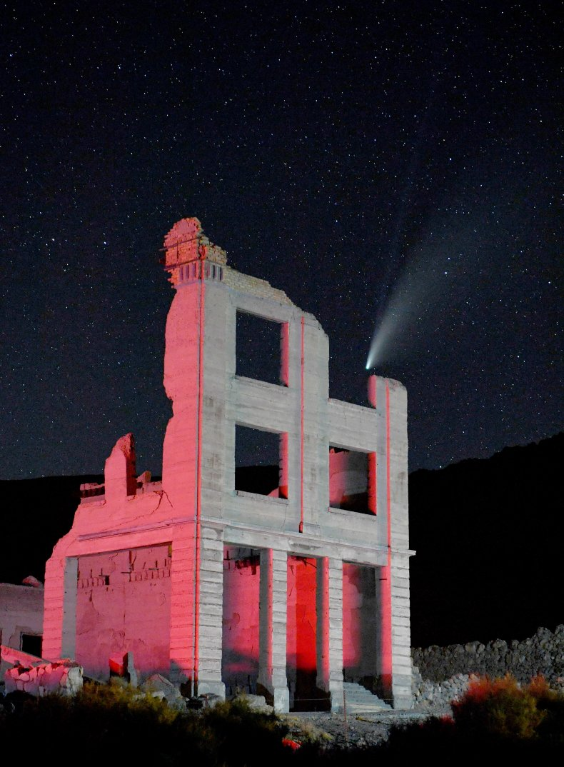 neowise-ghost-town