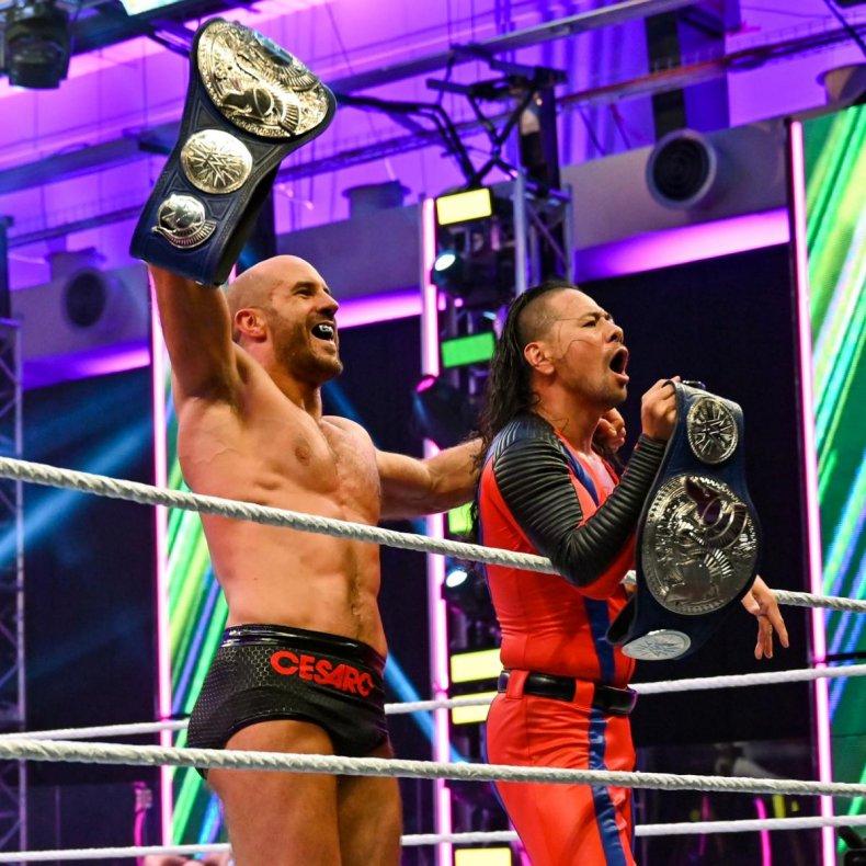 wwe cesaro shinsuke nakamura smackdown tag titles