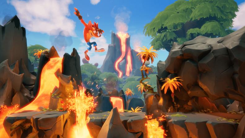 crash bandicoot 4 lava jump