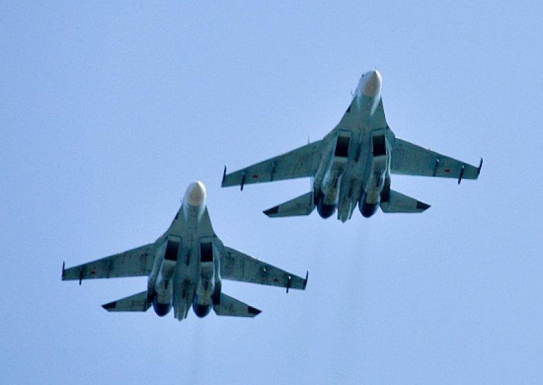 russia, su-27, black, sea, fleet, intercept