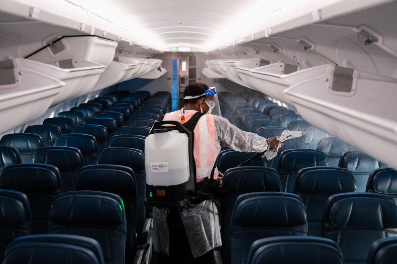 Delta plane cleaning