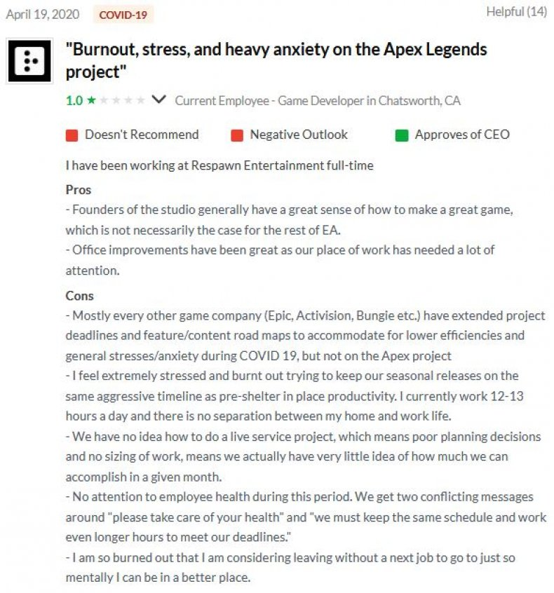 apex legends respawn job review