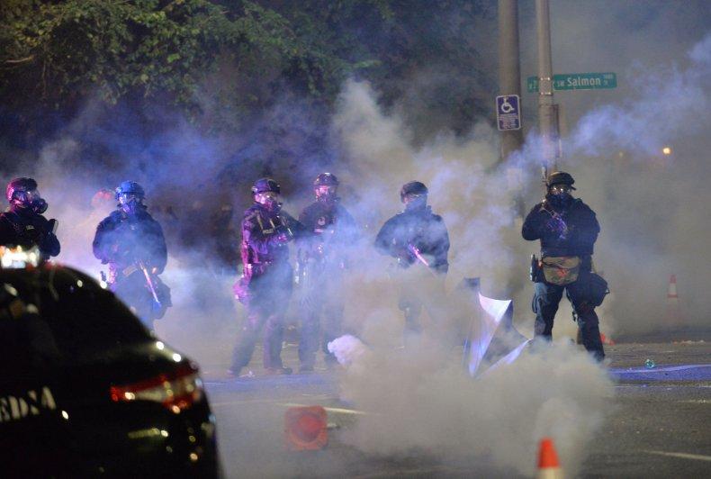 Portland protests