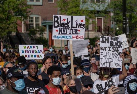 Detroit BLM Protest