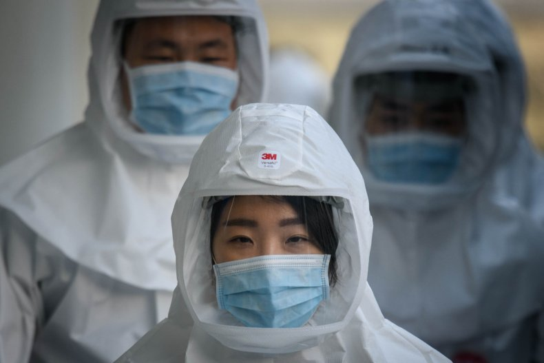 South Korea coronavirus medial workers