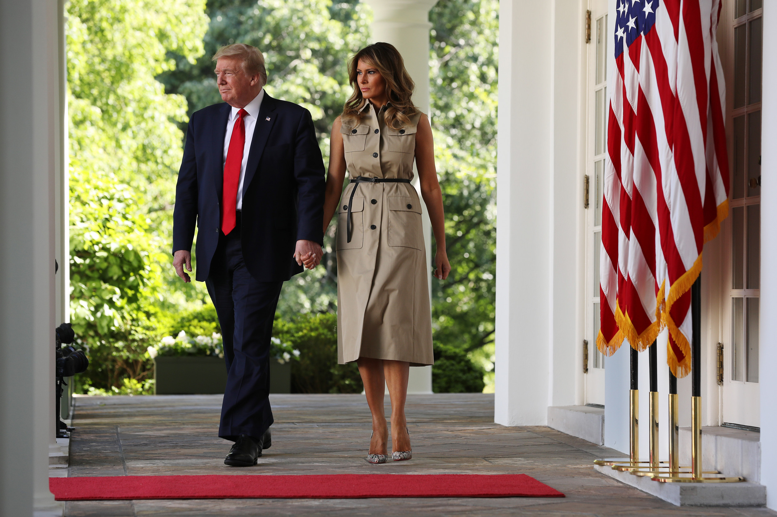 Melania Trump To Renovate White House Rose Garden Amid Difficult Times Are Taxpayers Funding It
