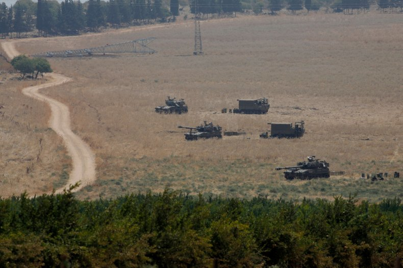 israel, military, border, lebanon