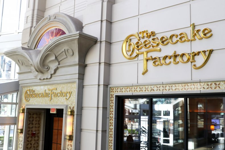 Getty Images The Cheesecake Factory