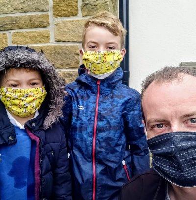 Coronavirus, masks, COVID-19, Pandemic, running