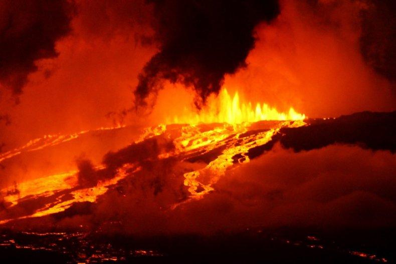 Galápagos, volcano, eruption