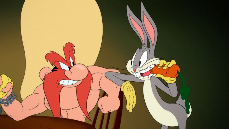 Bugs Bunny Yosemite Sam Looney Tunes Cartoons