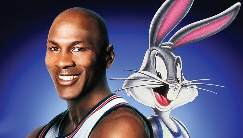 Space Jam Bugs Bunny Michael Jordan