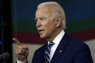 Presumptive Democratic presidential nominee Joe Biden