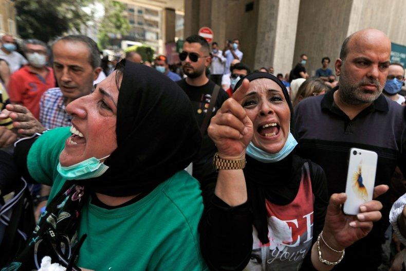 Demonstration in Beirut, Lebanon