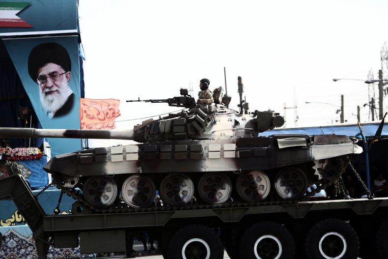 Iran's Army Day parade