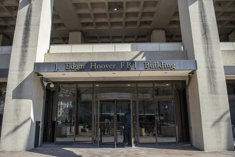 FBI headquarters in downtown DC