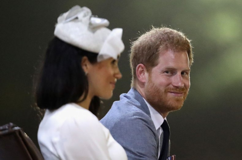 Meghan Markle and Prince Harry in Fiji
