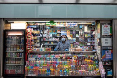 Newsstand in New York City