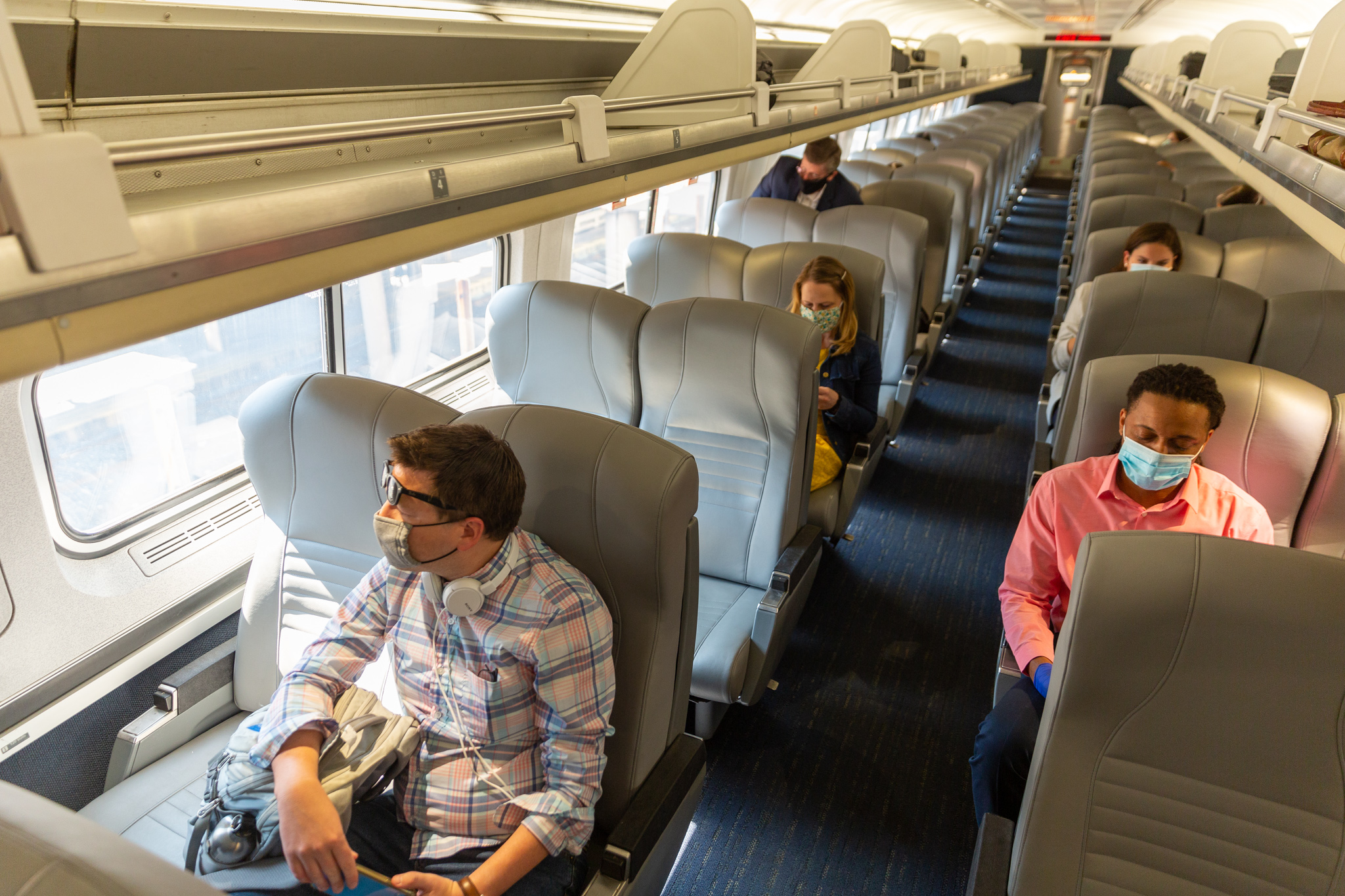 What It's Like to Travel Across the Country by Amtrak Right Now