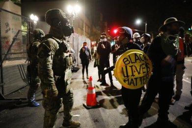 Portland protesters protestors jail release stop protesting