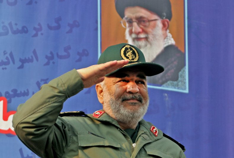 Hossein Salami, Iran, exercises, US, aircraft, carrier