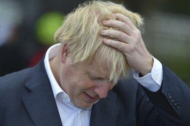 Boris Johnson second wave