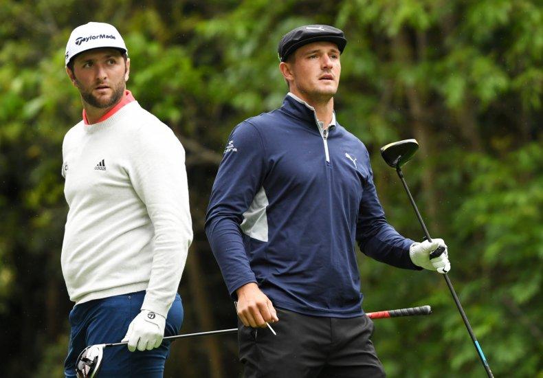 Jon Rahm, Bryson DeChambeau, PGA Tour