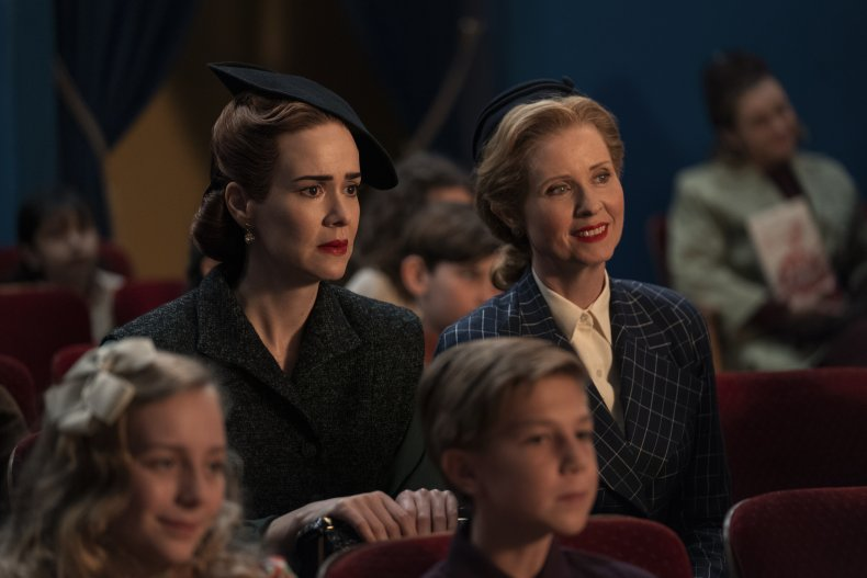 Sarah Paulson Cynthia Nixon Ratched Netflix