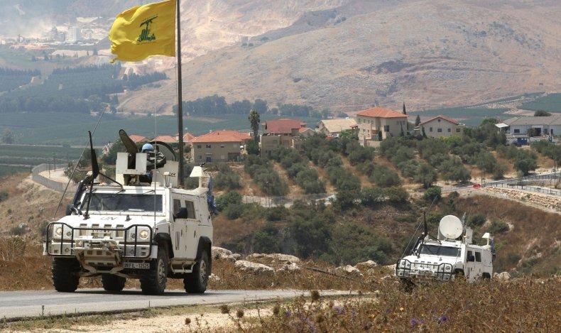 united, nations, lebanon, israel, border, hezbollah