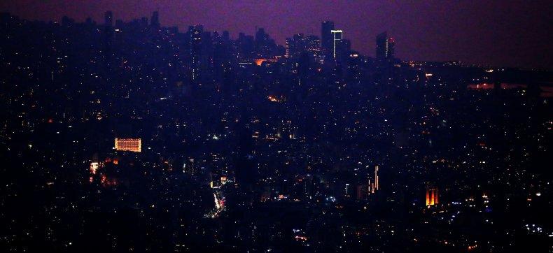 lebanon, beirut, capital, dark, crisis