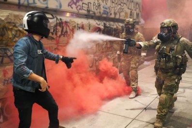Portland clashes